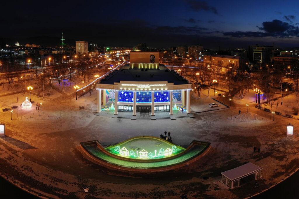 Оформление административного здания